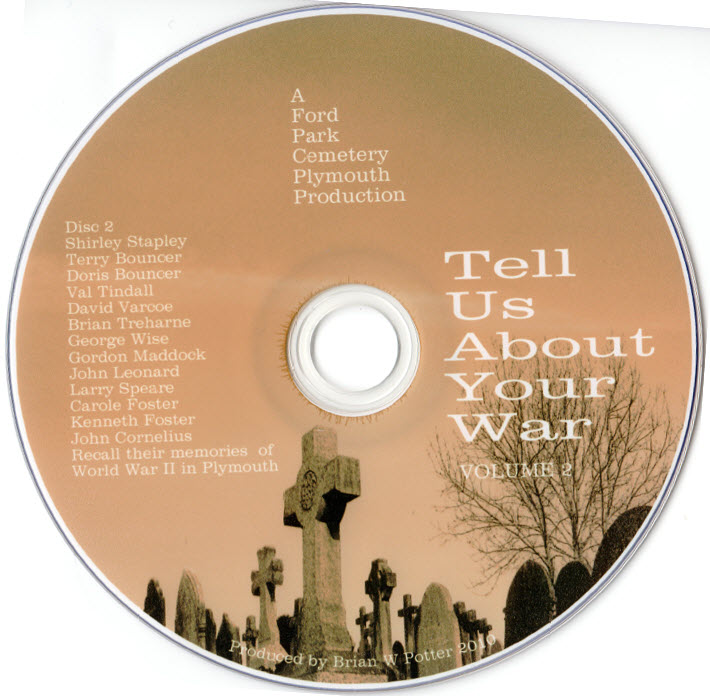 DVD Tell Us About Your War Vol 1